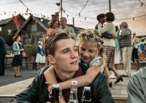 Auf dem in Sandvig gedrehten Hafenfest: