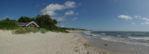 Boderne Strand - ein schöner aber schmaler Sandstrand