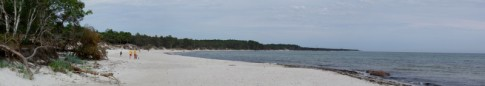 Jomfrugaard Strand bei Dueodde