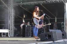 Aura Dione auf Hammershus Fairtrade Concert