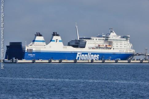 Die Nordlink der Reederei Finnlines in Malmö - eine Option auf dem Weg nach Südschweden
