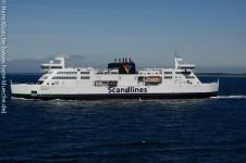 Scandlines-Fähren pendeln auf den Vogelfluglinien
