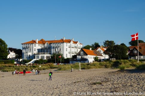 Strandslottet i Sandvig