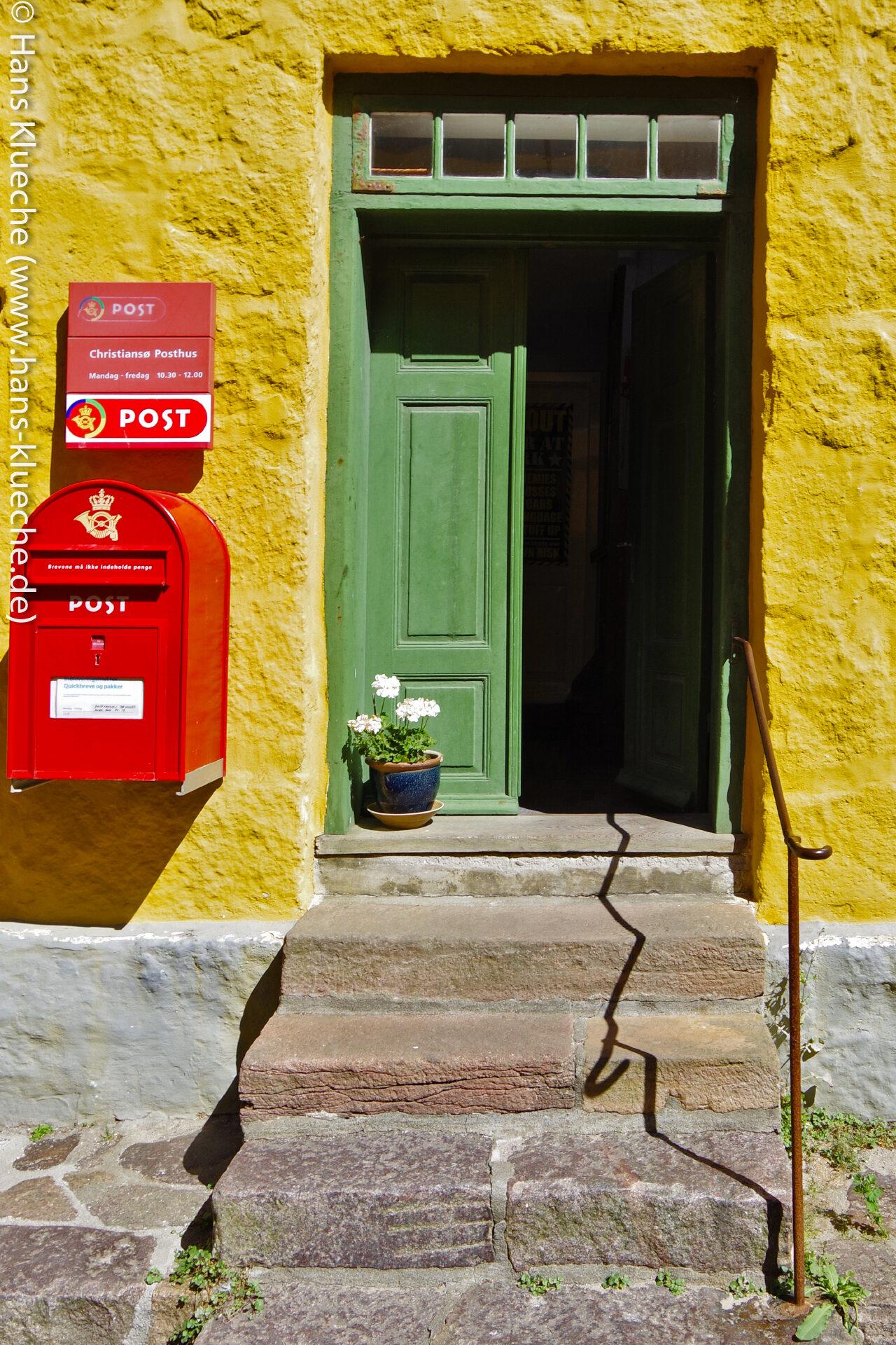 Noch gibt es auf Christiansø ein Posthaus,