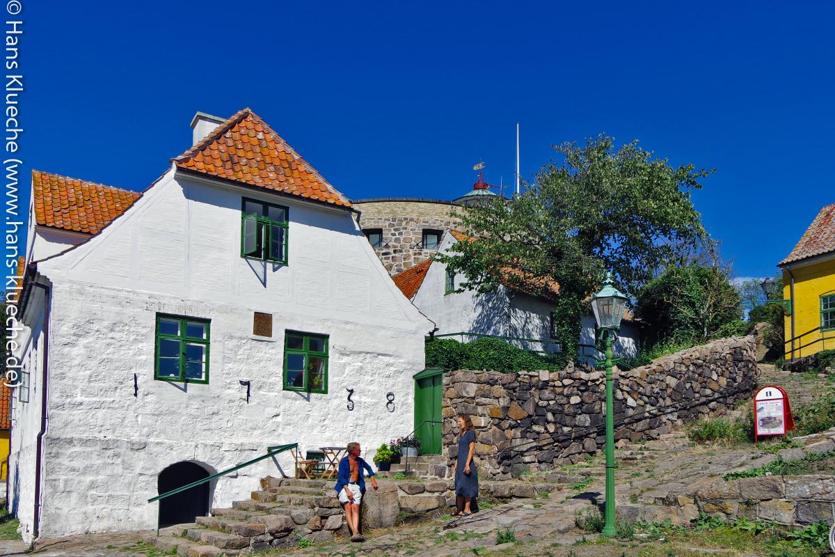 """Das """"Weiße Haus"""" von Christiansø:"""