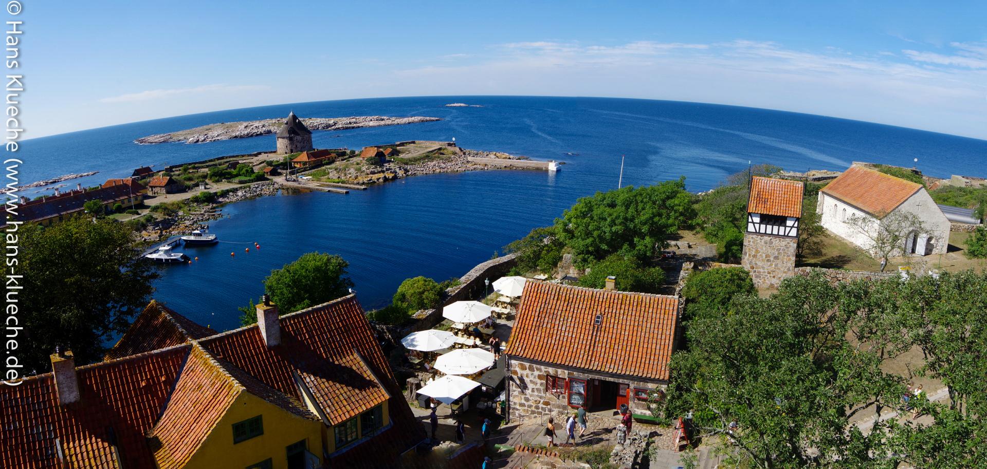 Blick vom Store Tårn auf