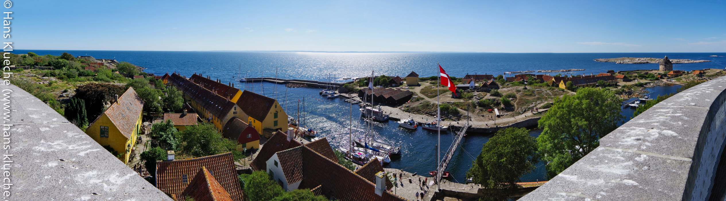 Christiansø, Frederiksø und Græsholm