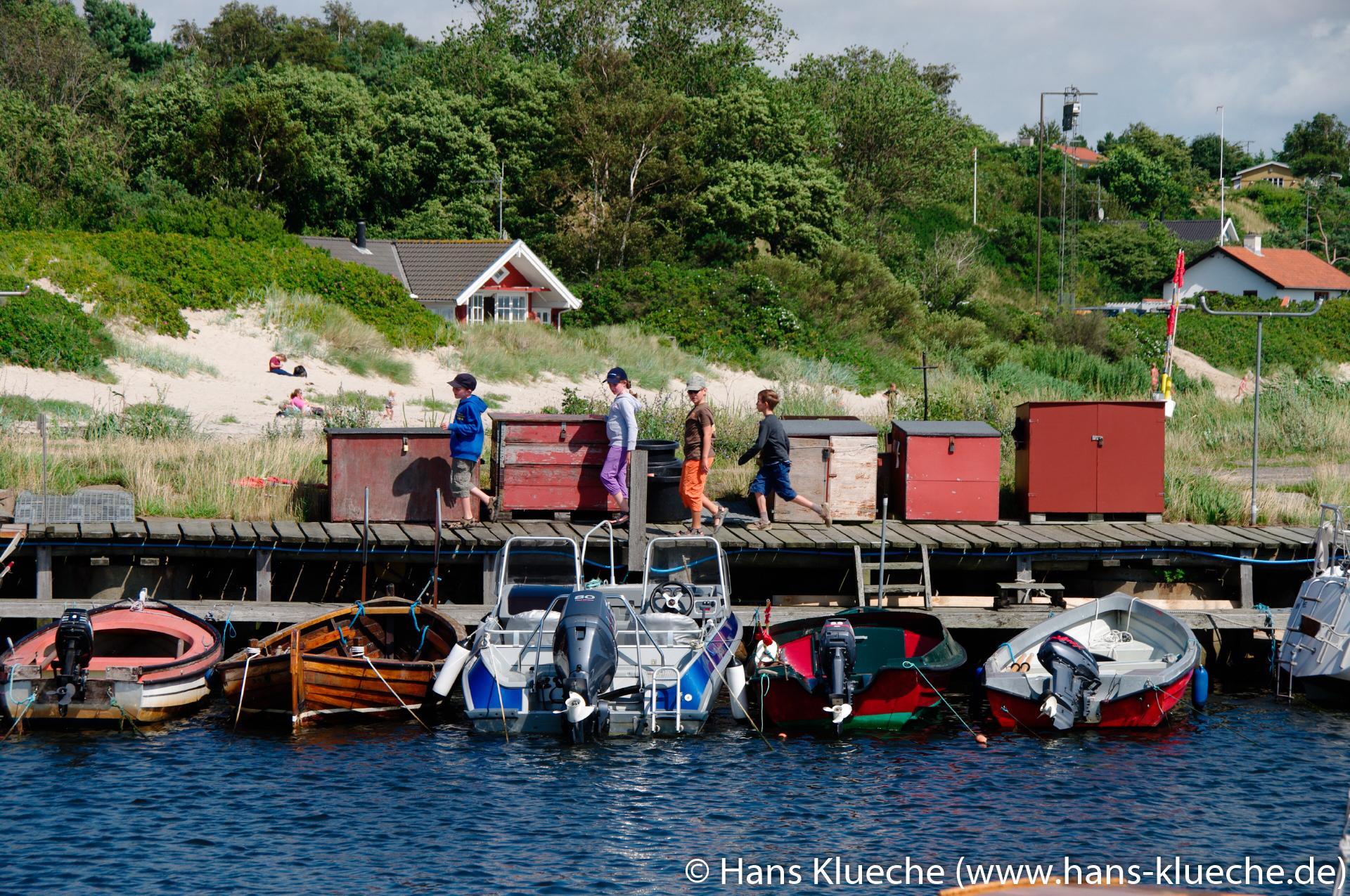 Hafen von Boderne