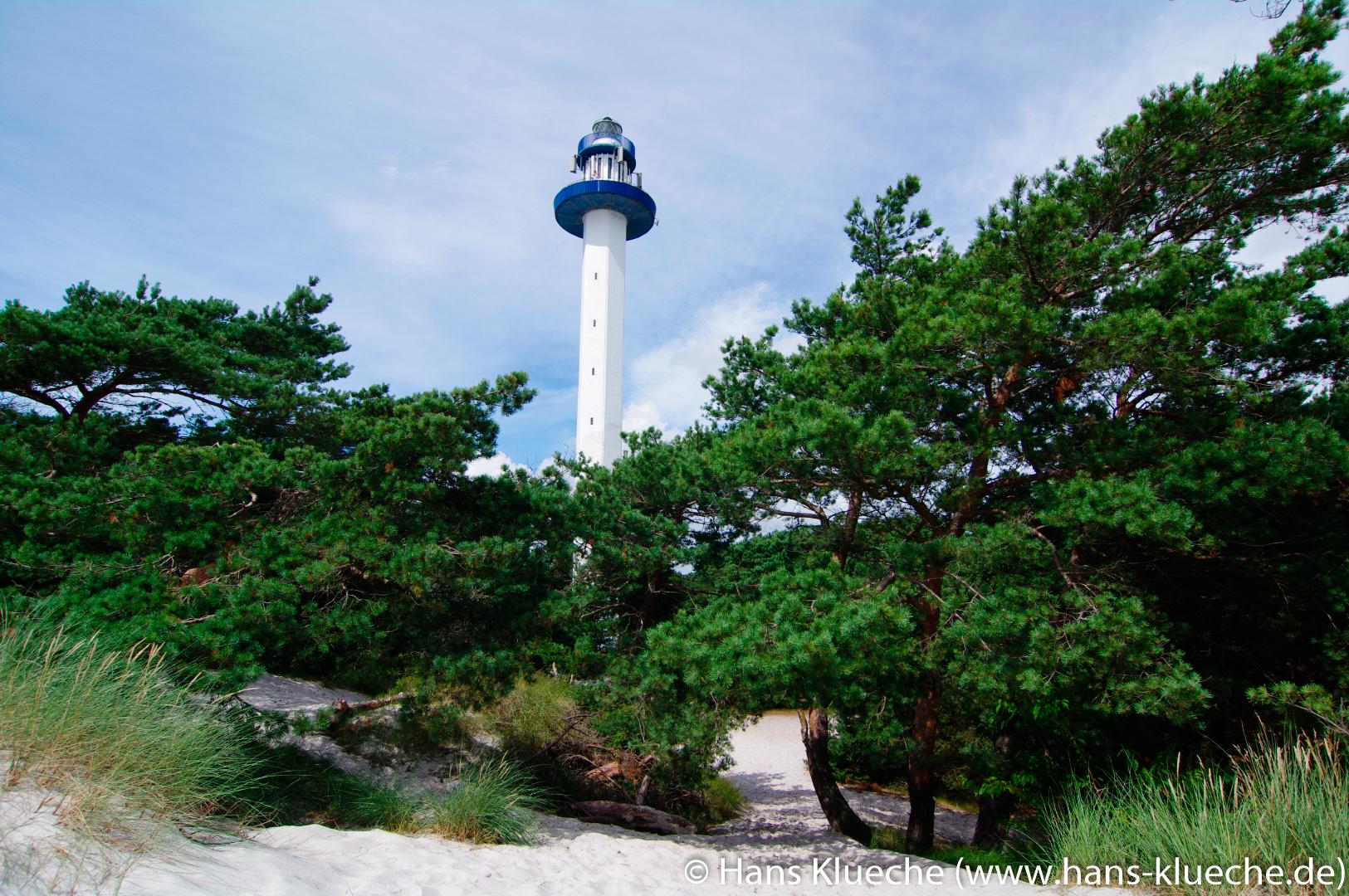 Der 47 m hohen Leuchtturm Dueodde Fyr