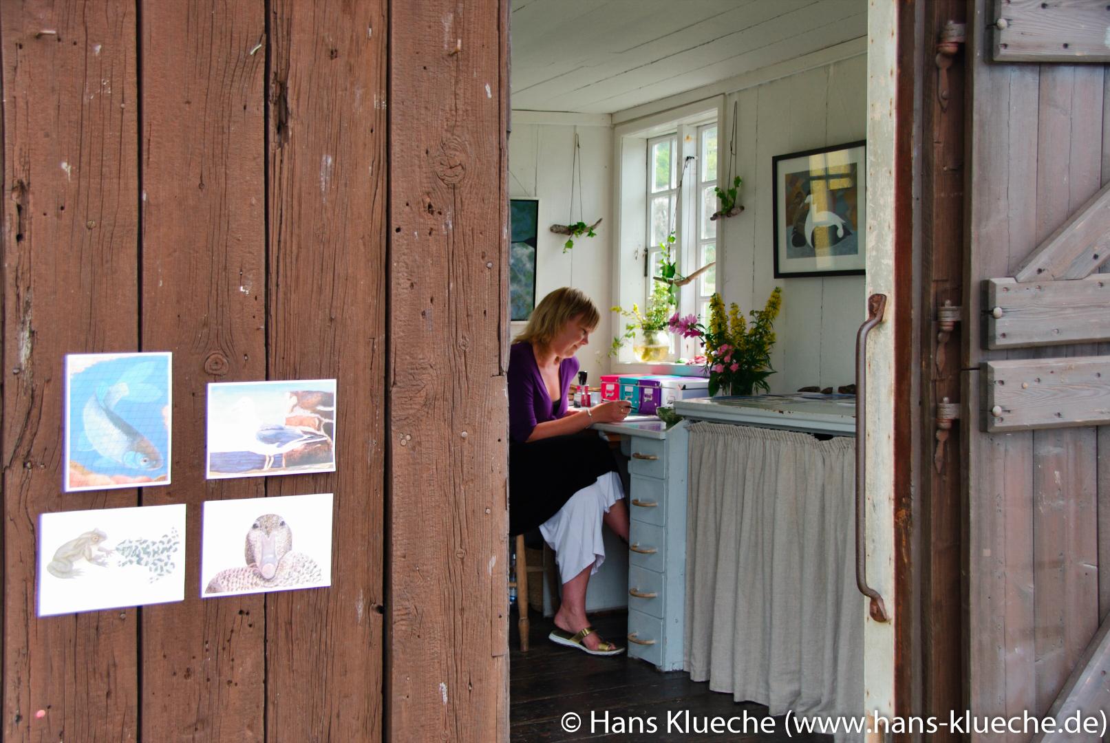 Festungsinsel Christiansø gehört zu Inselgruppe Ertmolmene nordöstlich von Bornholm: Kunsthandwerk