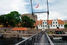 Festungsinseln Christiansø und Frederiksø bilden zusammen mit unbewohnten Schären die Inselgruppe Ertmolmene nordöstlich von Bornholm.