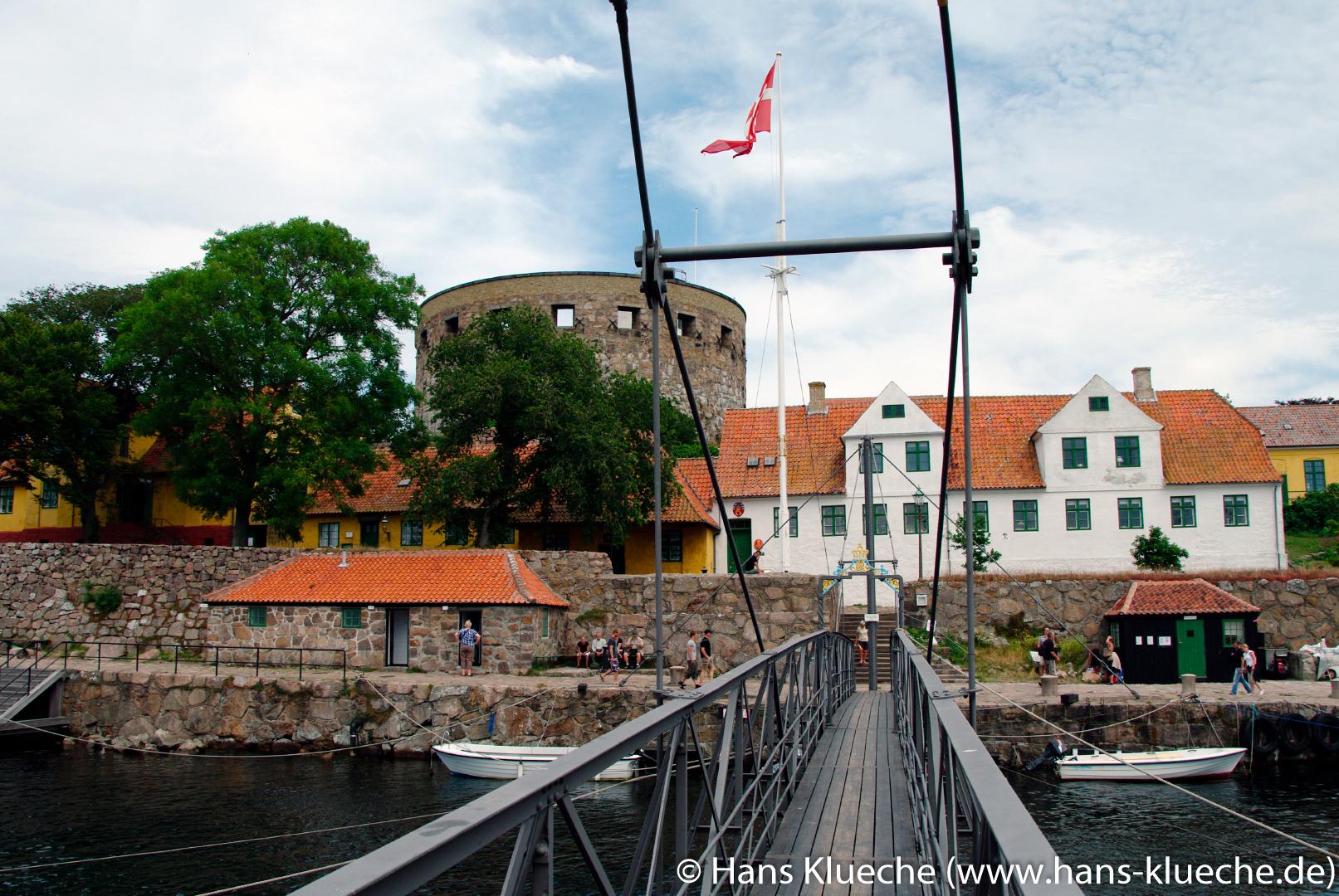 Festungsinsel Christiansø gehört zu Inselgruppe Ertmolmene nordöstlich von Bornholm.