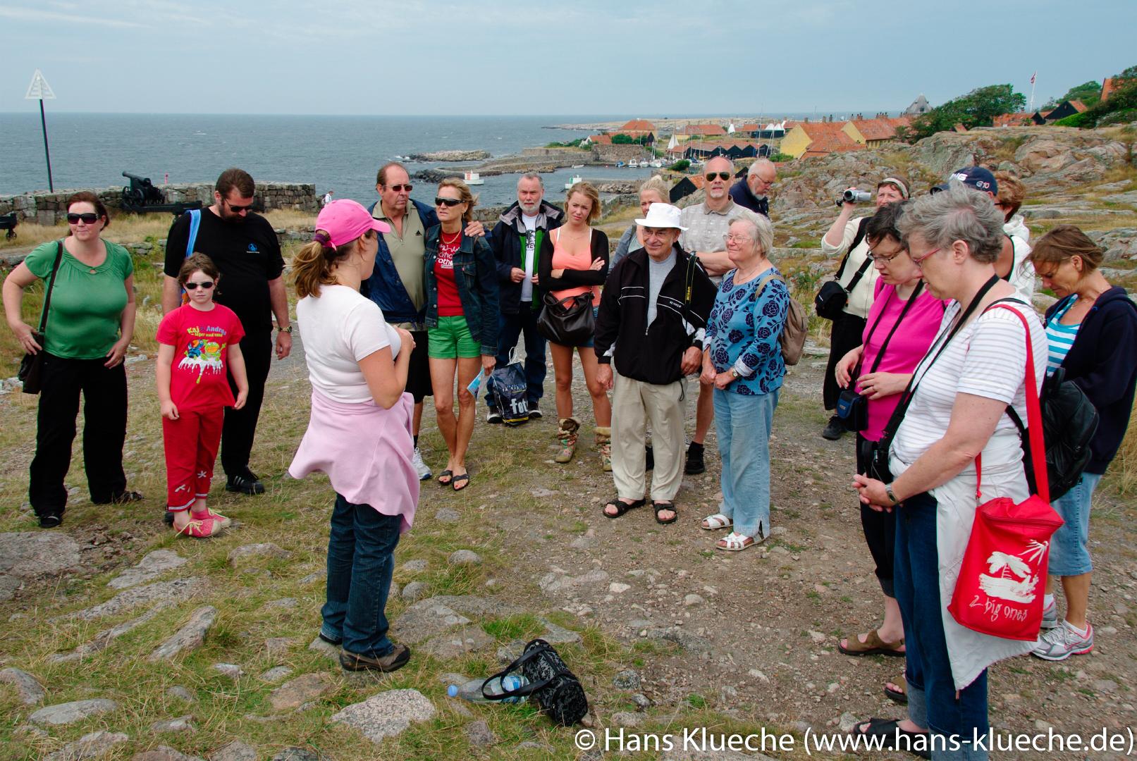 stungsinsel Christiansø gehört zu Inselgruppe Ertmolmene nordöstlich von Bornholm: Führung
