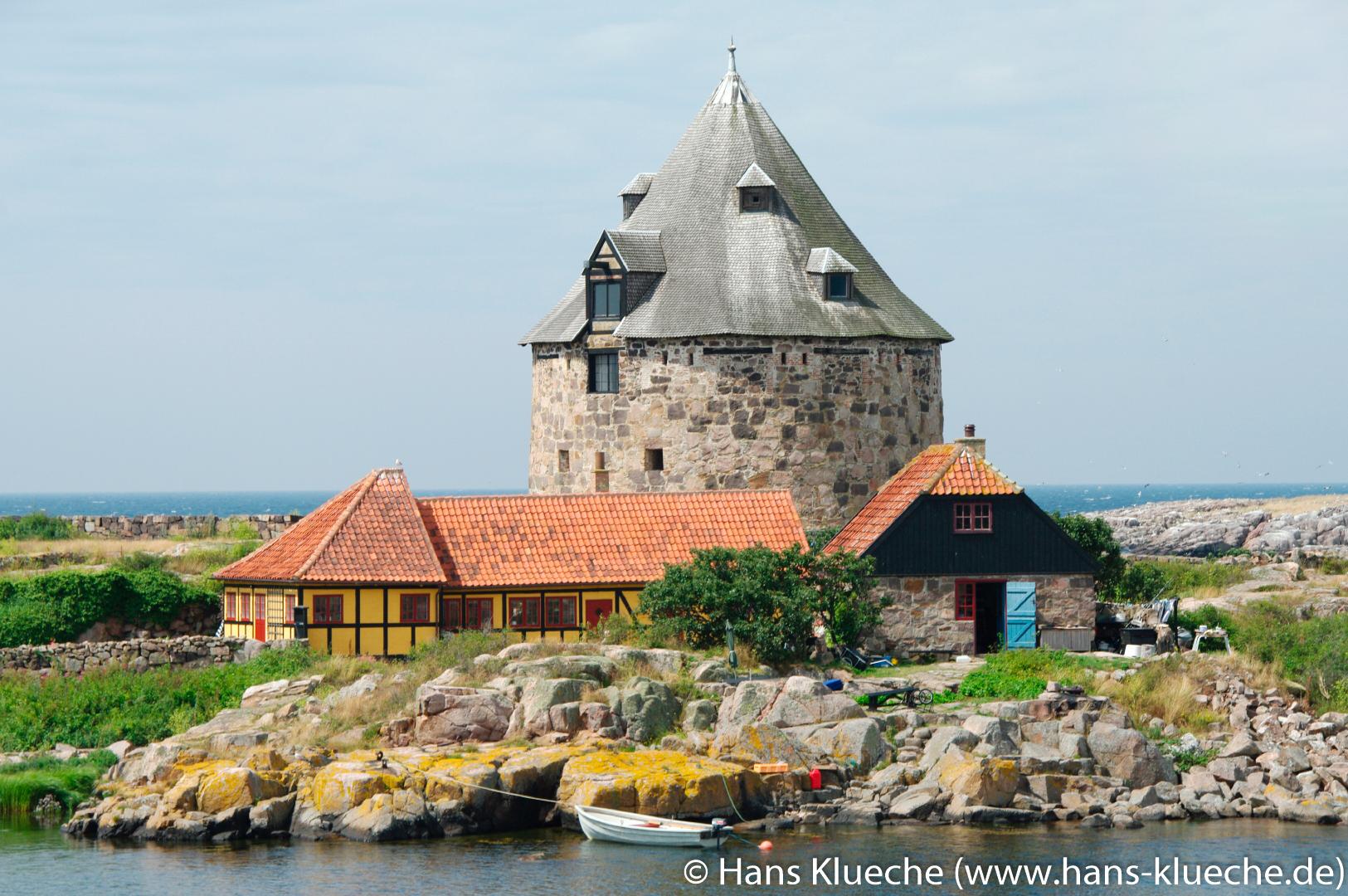 Die Festungsinsel Christiansø gehört zu Inselgruppe Ertmolmene nordöstlich von Bornholm.