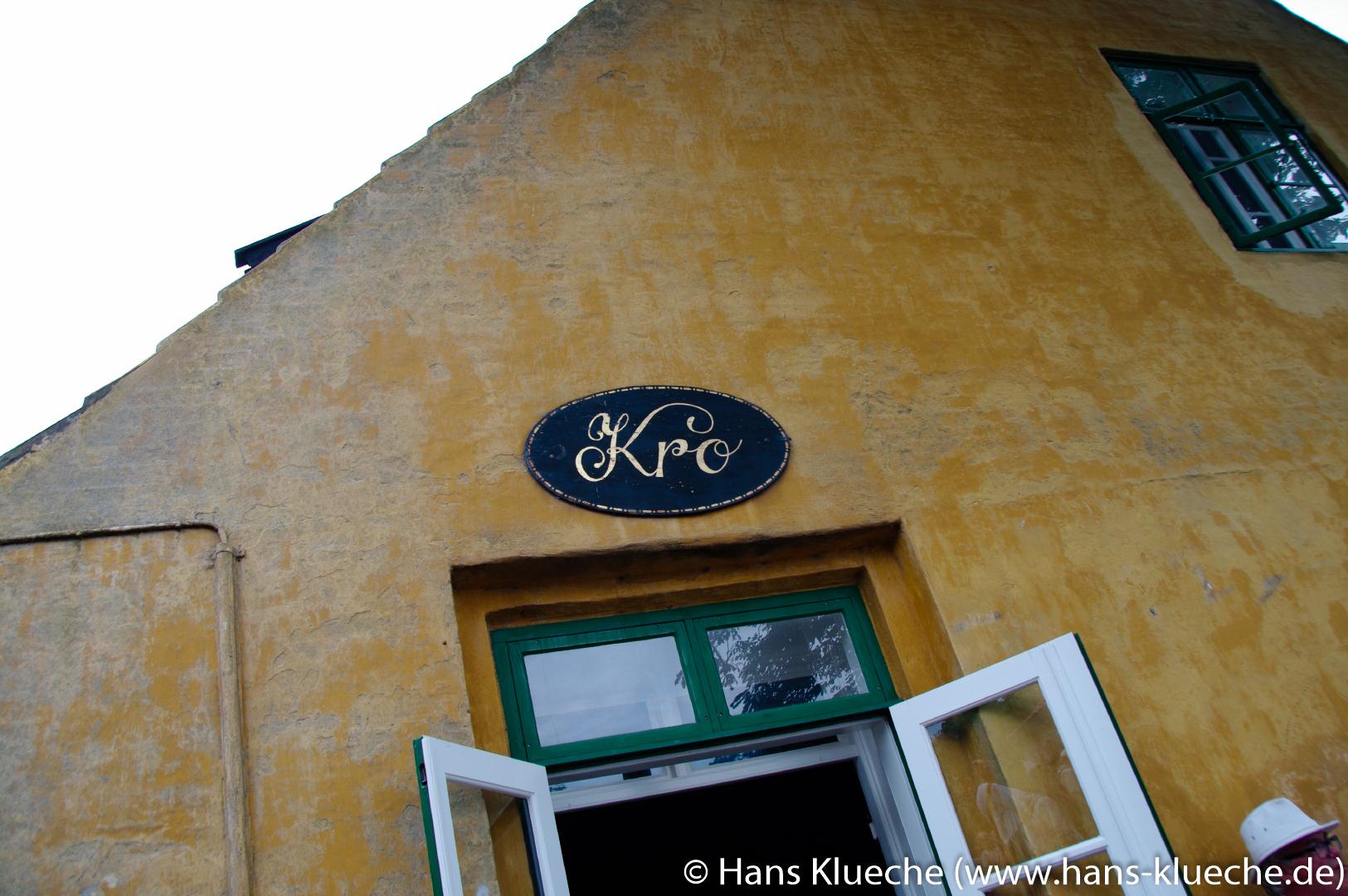 Die Festungsinsel Christiansø gehört zu Inselgruppe Ertmolmene nordöstlich von Bornholm: Inselkro