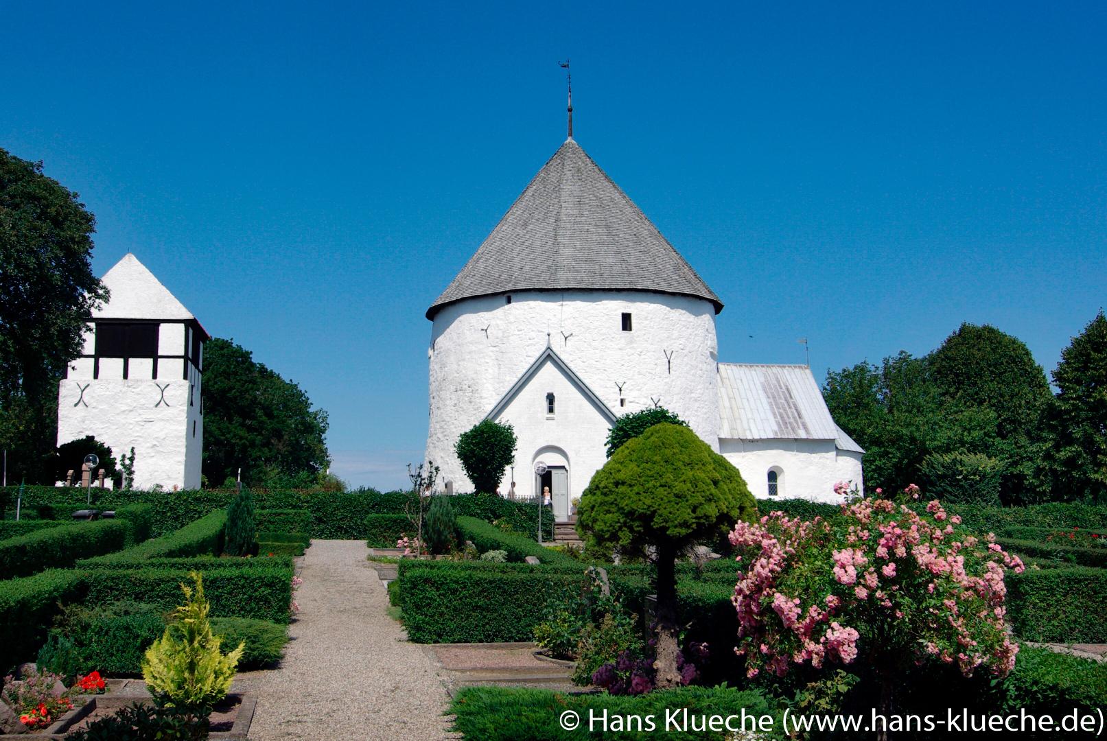 Die Nylars Kirke ist die jüngste Rundkirche auf Bornholm