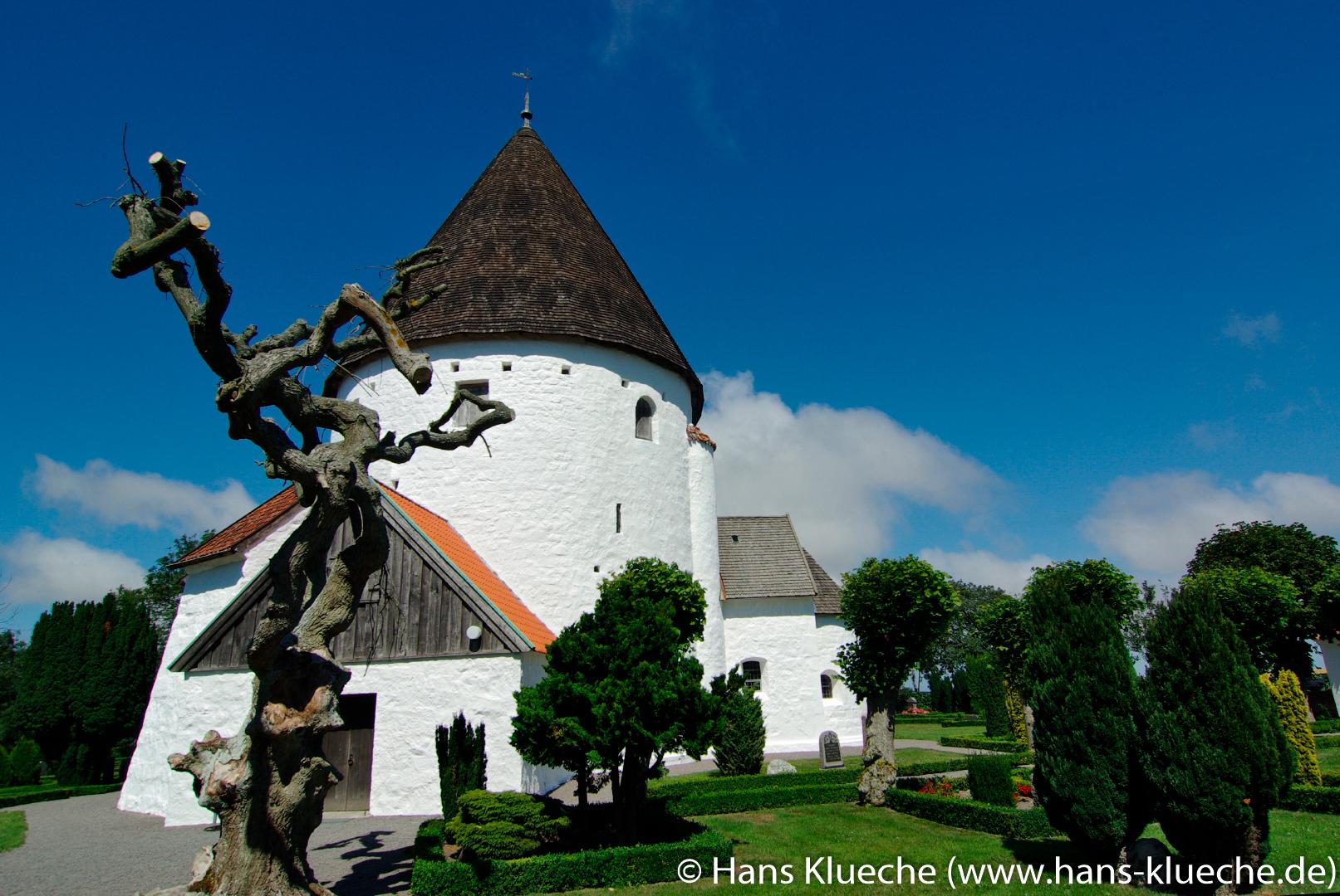 Skt Ols Kirke in Olsker im Norden von Bornholm