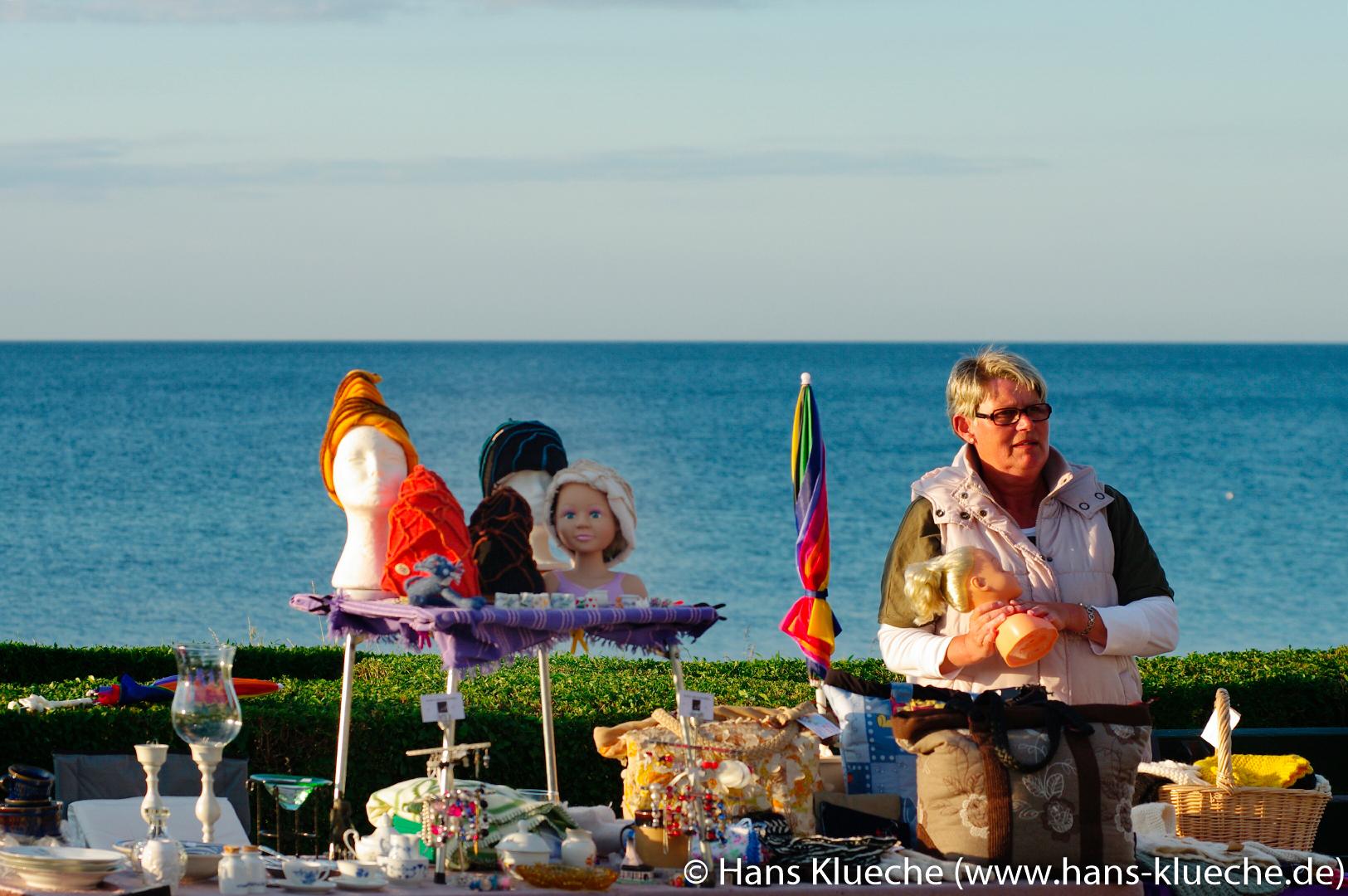 Dienstags Markt in Sandvig