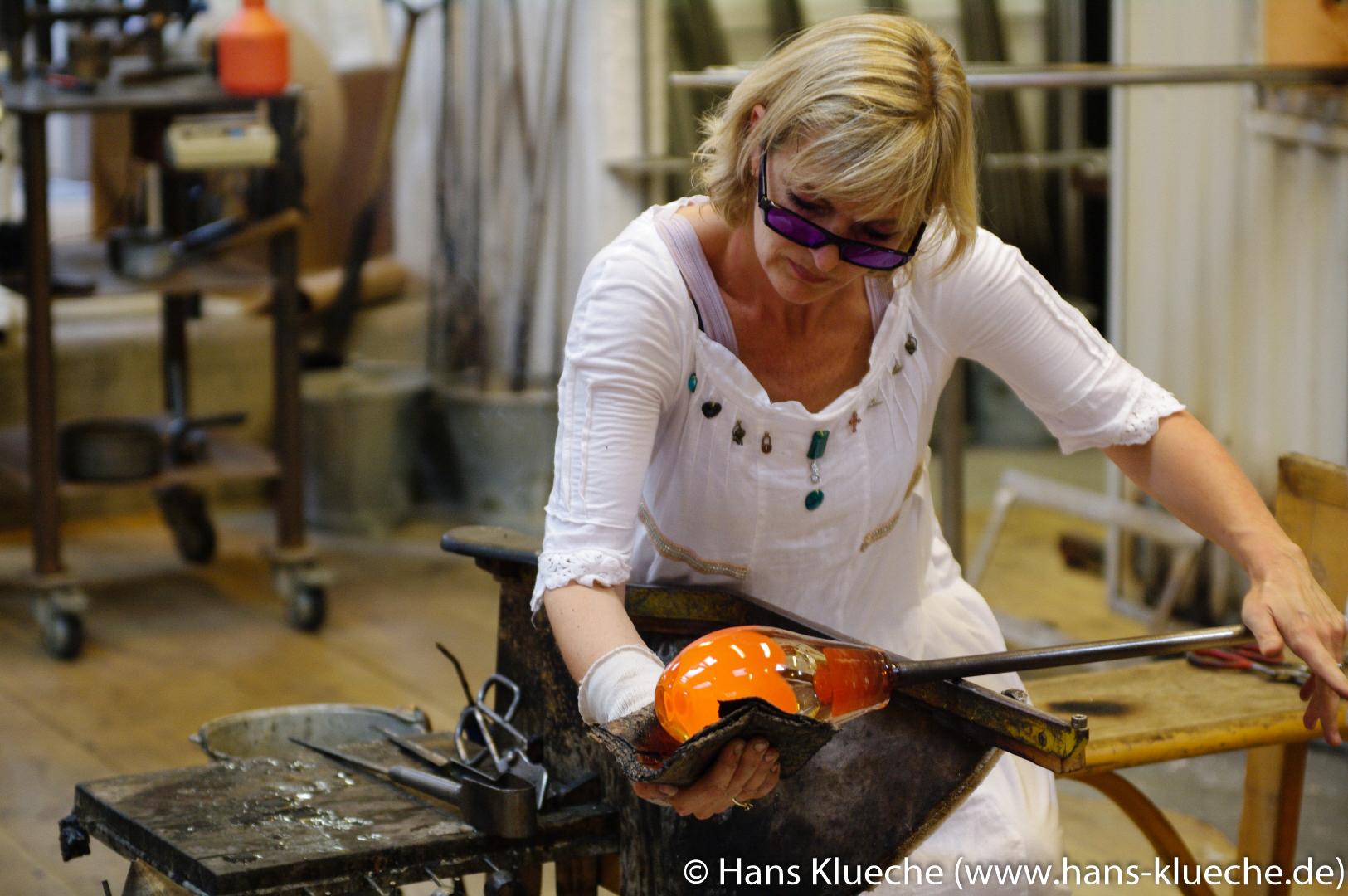 Glasdesignerin Pernille Bülow